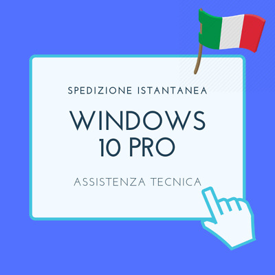 Windows 10 Pro, Licenze 64 & 32 bit - Home and Pro