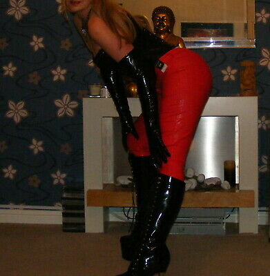 New Fetish high boots size 7