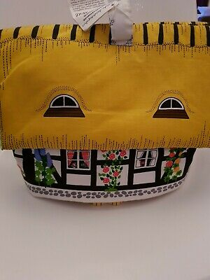 Vintage Retro Swedish 'Folk House' Large Teacosy New With Tag