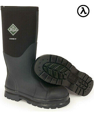 Muck Chore Hi Steel Toe Outdoor Waterproof Boots Chs-000A - All Sizes - New