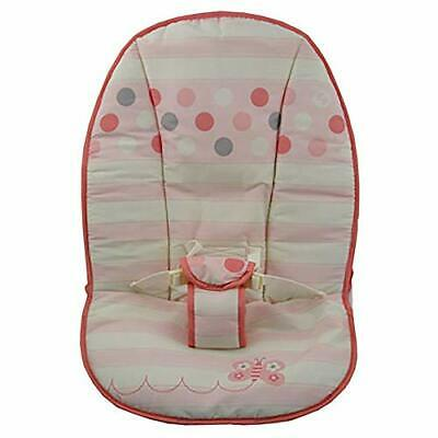 Fisher Price Infant / Baby Bouncer BHL59 - Replacement Pad - Pink, White, Gray