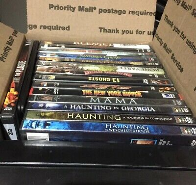 Lot of 18 Horror Movies DVD & VHS-see Description-vintage To Contemporary-AS IS!
