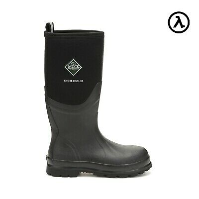 Muck Chore Cool Hi Steel-Toe Outdoor Waterproof Boots Csct-000 - All Sizes