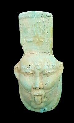 God Of Sexual Realtionships Amulet Egyptian Bes Amulet Rare Antique Statuette
