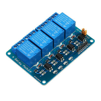 3pcs Geekcreit 24V 4 Channel Relay Module For Arduino PIC ARM DSP AVR