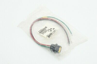 "NEW WOODHEAD 4 PIN 12/"" FEMALE STRAIGHT RECEPTACLE 1R4004A20A120"