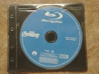The Avengers / Marvels avengers  - Disc Only (Blu Ray) no case - like new