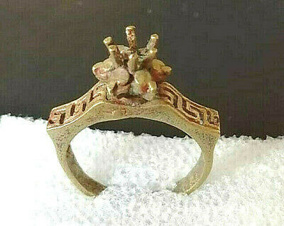 Extremely Ancient Ring Bronze Legionary Roman Rare Type Artifact Old Vintage