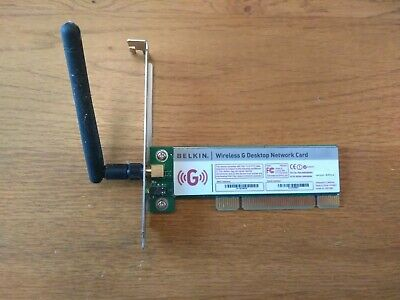 BELKIN WIRELESS G DESKTOP CARD VER.6000UK DRIVERS WINDOWS 7