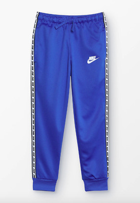 Nike Boys Repeat Pant Tracksuit Bottoms Blue BNWT Age 8-10 Years