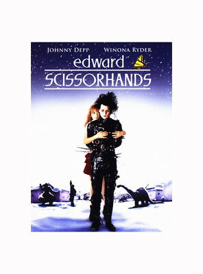 NEW! ~ Edward Scissorhands (DVD 1990 Fullscreen Anniversary Edition) JOHNNY DEPP