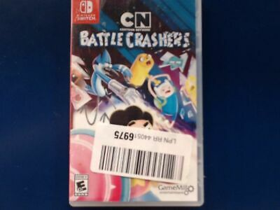 NEW OPEN BOX Battle Crashers from Cartoon Network for the Nintendo Switch - READ