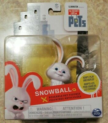 New! The Secret Life Of Pets Snowball Poseable Action Figure