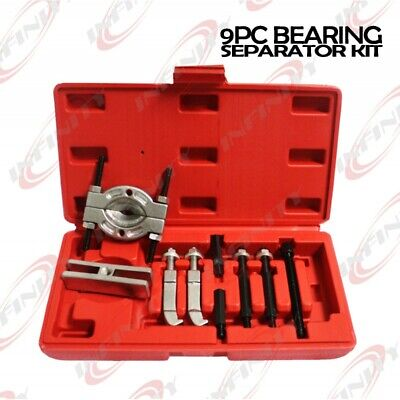 9pc Mini Bearing Puller Separator Set  Pull Out Jaw Gear Pulley Remova 30-50mm