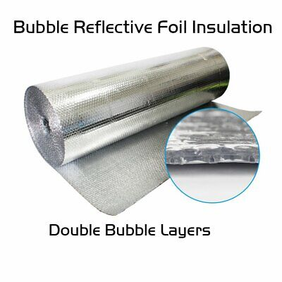 200sqft Reflective Foam Insulation Heat Shield Thermal Insulation 2/'x100/' AD3