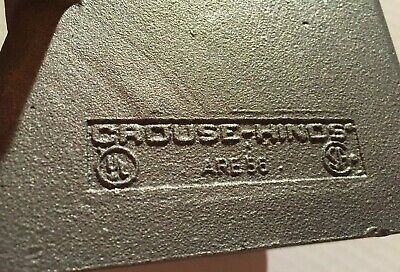 "Crouse Hinds ARE56 1-1/2"" Back Box"