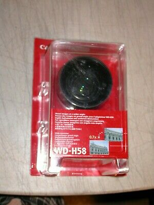 Canon WD-H58 Wide Converter Camcorder Lens 0.7x  58mm 3572B001 New in Package