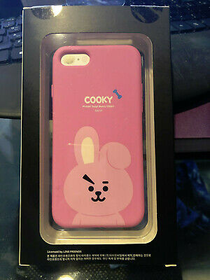 New Cooky BTS BT21 Official Authentic Soft iPhone 7/8 Case Line Friends Jungkook