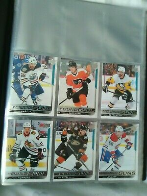 2018/19 Upper Deck Series 2 Young Guns Lot Of 6