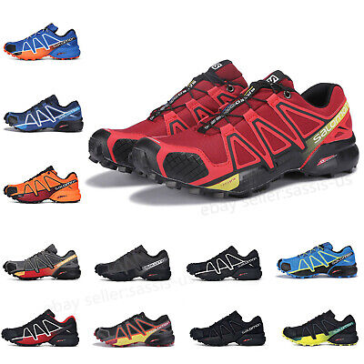 Salomon Speedcross 4 Mens Water Resistant Running Shoes Trainers Athletic Sport