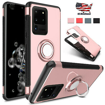 For Samsung Galaxy Note 10+/9/8/5G/S10+/S8+/S9+/Plus Case Cover With Ring Stand