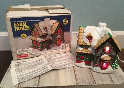 Accents Unlimited Wee Crafts * FARM HOUSE * #21570