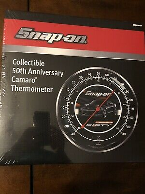 Snap-on Wall Thermometer Chevrolet Chevy Camaro Collectible 50th Anniversary