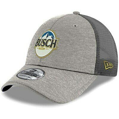 152f0f69a35e62 KEVIN HARVICK NEW Era Nascar 4 Busch Beer Shadow Blue Flex Fitted ...