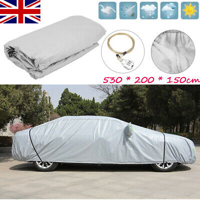 Waterproof Full Car Cover 3XXL Large Layers Breathable UV Protect Indoor Outdoor