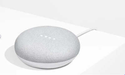Google Home Mini Assistente Vocale Versione Italiana Originale Google, Nuovo