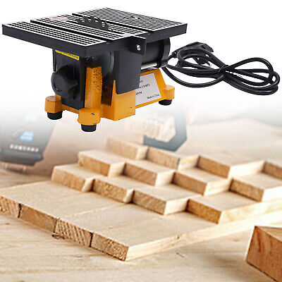 "New 4"" Mini Table Saw Cutting Tool Wood Glass Stone Craft Diy Saw Cutter Bench"