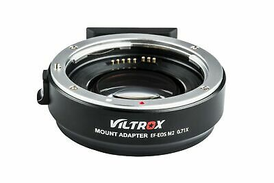 Viltrox Ef-Eos M2 Af Auto Focus Lens Mount Adapter Ring 0.71X For Canon Ef  Wt