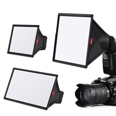 3in1 Mini Softbox Diffuser for DSLR Flash Speedlite Speedlight Portable TK11