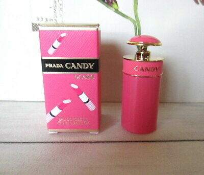 New. Miniature PRADA CANDY GLOSS EDT 7ml. In Box. Full.