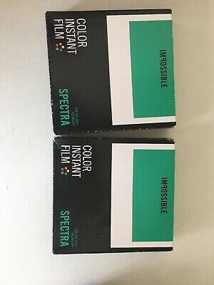 2 x 8 Color Instant Film for Polaroid Image & Spectra Type Cameras - Impossible