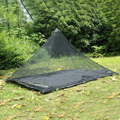 Portable Outdoor Camping Tent Mosquito Insect Repellent Net with Storage Bag