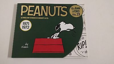 Peanuts Snoopy Vol 23 all Years D Oro 1971 1972