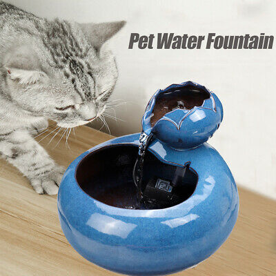 Pet Smart Water Dispenser Automatic Circulation Basin Cat Dog Drinking Fountain
