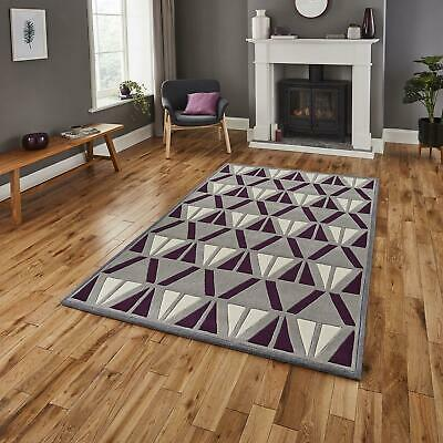 Modern Hong Kong HK1374 Rugs Soft Deep Acrylic Geometric Retro Carpet Floor Mat