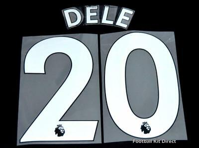 Tottenham Dele 20 Premier League Football Shirt Name Set Sporting ID 2017/18 A