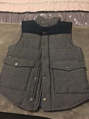 Indie by Industries Boys Navy Puffer Vest size 8