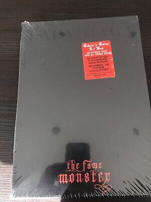 Lady Gaga Fame Monster Super Deluxe Book Numbered & Sealed