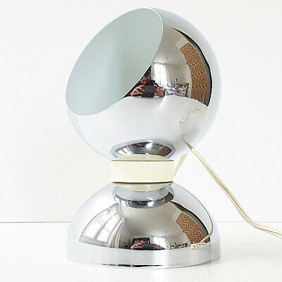 A Aimantee Ou Vintage 1970 Lampe Applique Poser Boule Space Chrome EDH2IW9
