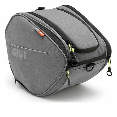 Givi EA105GR Easy-T Range Scooter Tunnel Bag 15L Urban Grey Commuter Luggage