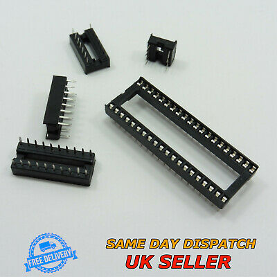 8-40 Standard Pin IC Chip Socket Integrated Circuit Low Profile