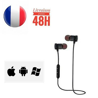 Ecouteur casque bluetooth sans fil sports compatible Oreillette