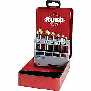 HSS-CO5/ Lot de 102152e DIN 335/ C Ruko Fraise conique 90/ /° Kit