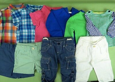 400 Baby Gap BOY sets tops Shorts pants Hoodie onepiece LOT 15 Items Size 6-12 M