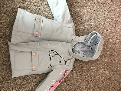 Next Unicorn Coat 3-6 Bnwt