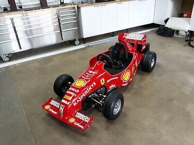 "Kids ""Ferrari""  Electric F1 Go Cart"